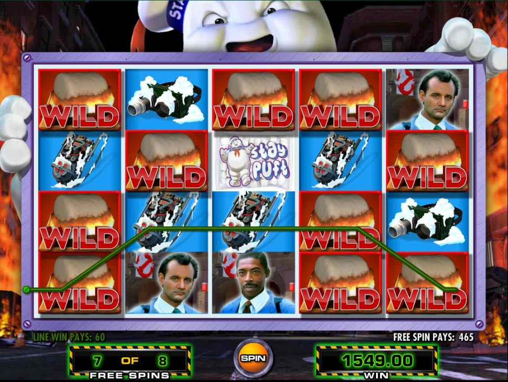 ghostbusters online slot machine